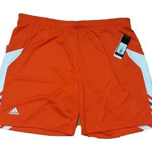 Adidas Utility Shorts Orange Athletic Basketball